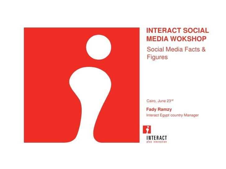 Social Media Workshop : Social Media Facts and Figures