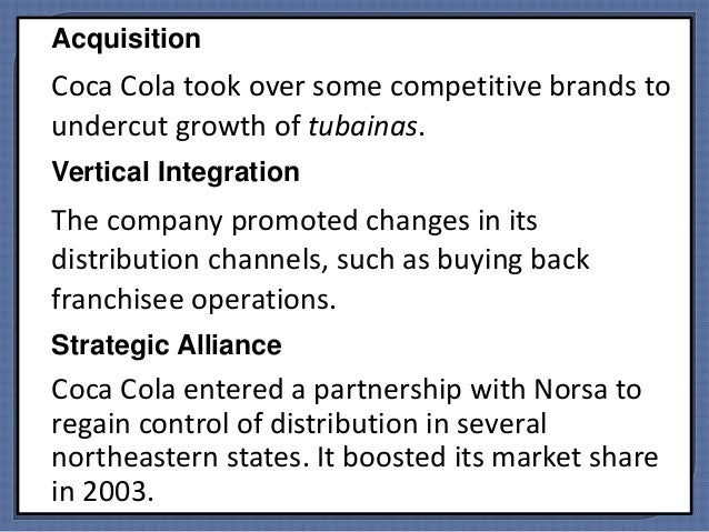 coca cola s marketing challenges in brazil tubainas war International marketing strategy plan executive summary this report deals with the entry of coca cola in brazil it will cover all the marketing aspects of coca cola in brazil with regards to the 4ps of marketing ie product, price, promotion and place.