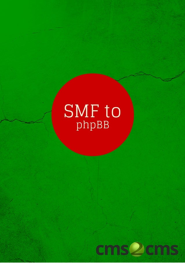 SMF to phpBB Migration with no Hassle