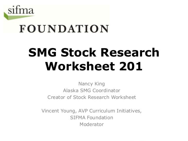 stock market game research sheet. Black Bedroom Furniture Sets. Home Design Ideas