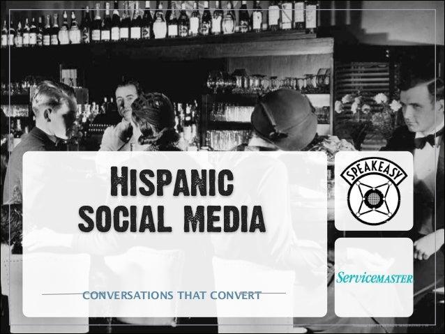 Hispanic  social media CONVERSATIONS THAT CONVERT