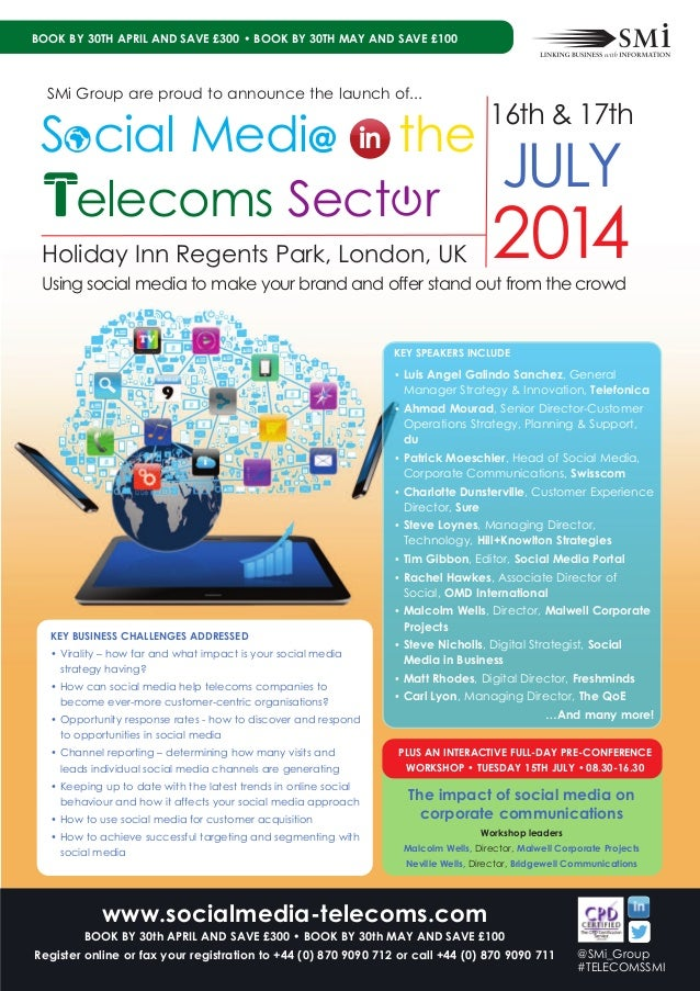 SMi Group's Social Media in the Telecoms Sector conference