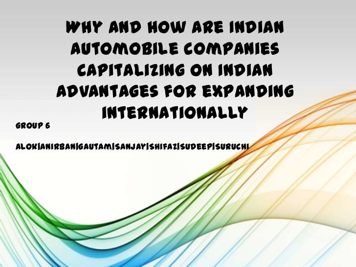 Competitiveness of Indian Automobile companies