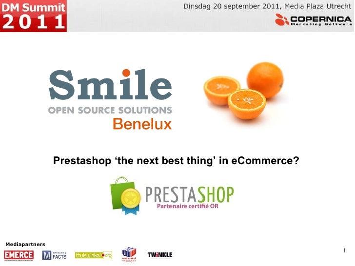 Smile - Erwin de Vries presentatie #DMSummit 2011