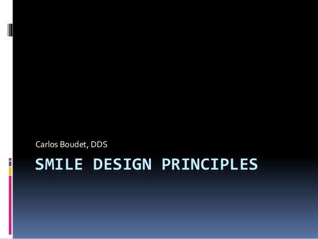 Smile design principles for patients from boudetdds.com