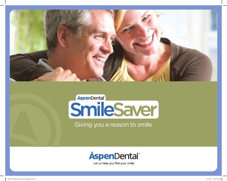 Aspen Dental Smile Saver Program