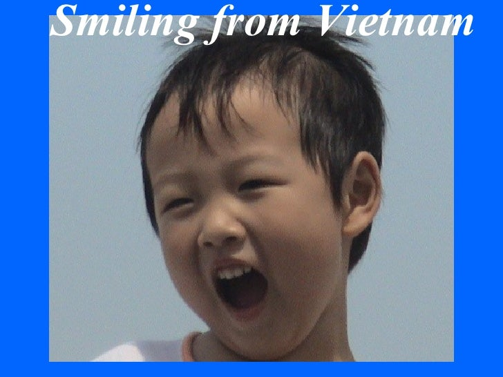 Smiling From Vietnam