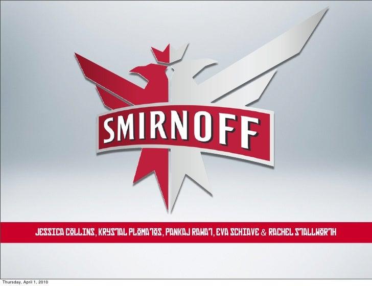 Smirnoff Vodka: Authentic Red
