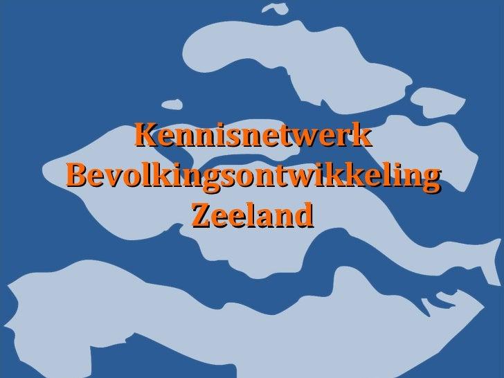 Kennisnetwerk Bevolkingsontwikkeling Zeeland
