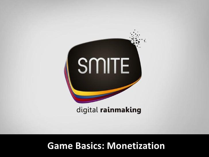 Game Basics: Monetization