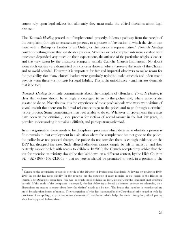 Help with titling my term paper! sexual abuse scandal~?