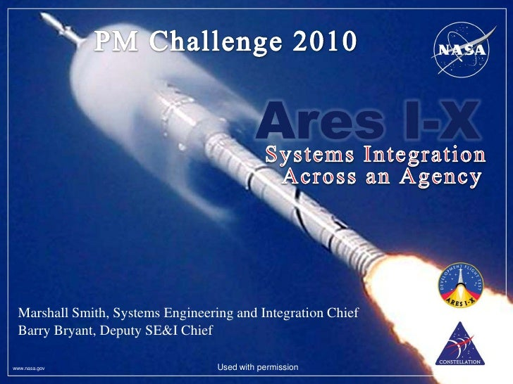 Marshall Smith, Systems Engineering and Integration Chief Barry Bryant, Deputy SE&I Chiefwww.nasa.gov                     ...