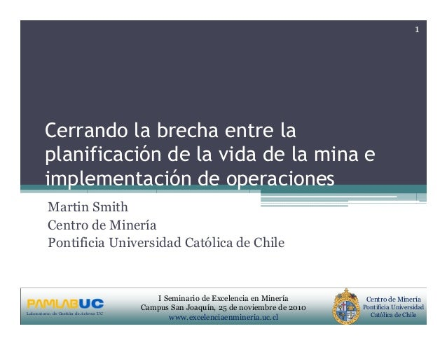 PRIMERAS JORNADAS DE GESTION DE ACTIVOS & EFICIENCIA ENERGETICA GEDAEFE 2008Laboratorio de Gestión de Activos UC Centro de...