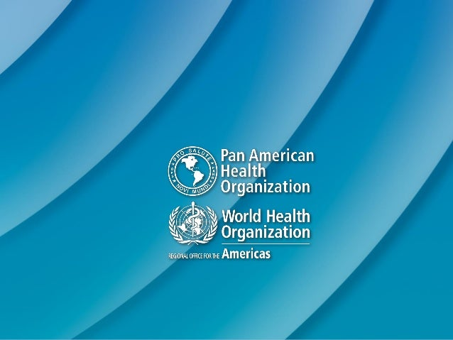Regional report on alcohol and health PAHO-WHO