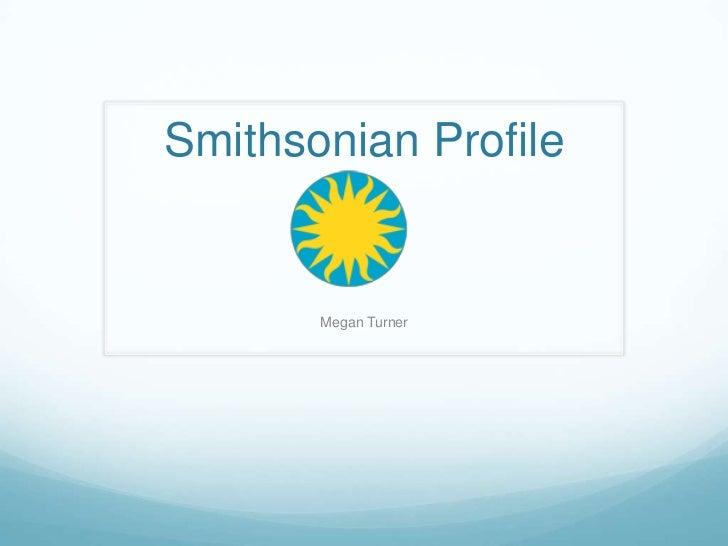 Smithsonian presentation 1