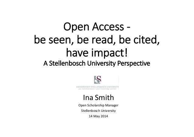 Smith uct researchweek