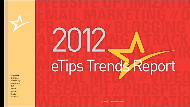 Starmark 2012 Trends Report