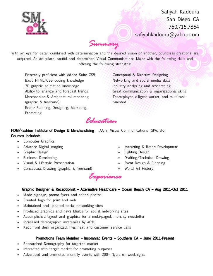 resume for hair stylist