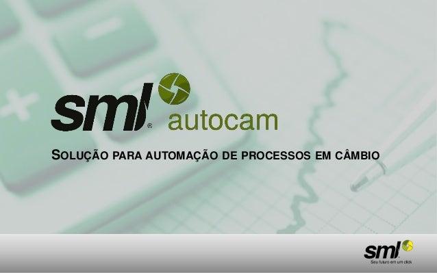 SOLUÇÃO PARA AUTOMAÇÃO DE PROCESSOS EM CÂMBIO