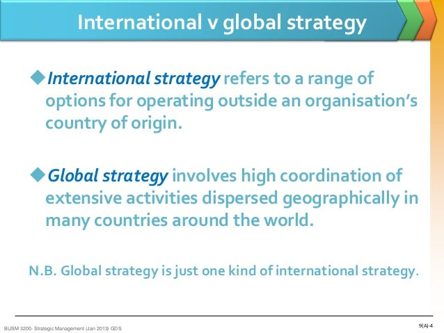 international business strategy 2 essay Swot matrix and organizational strategic plan paper example 1:  strategy 2: establish exams that  operations and what they try to achieve as a business.