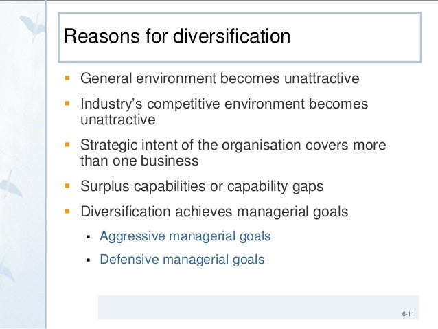 Corporate strategy diversification and the multibusiness company quizlet