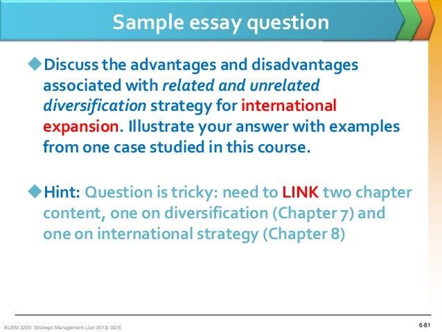 technology essay question