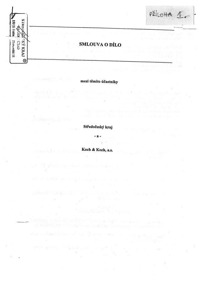 Smlouva o dílo se společností Koch&Koch