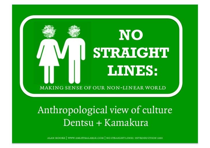 NO                              STRAIGHT                                LINES:making sense of our non-linear worldAnthropo...