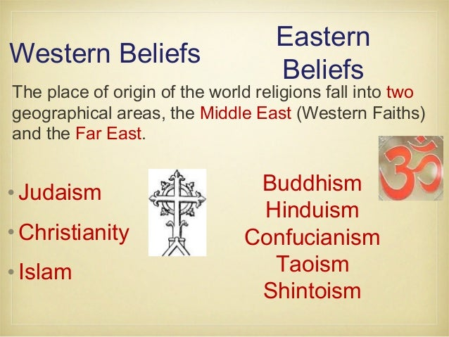 What Are the Differences Between Eastern And Western Religions?