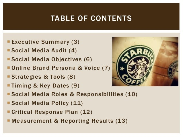 starbucks executive summary Free essays on starbucks executive summary for students use our papers to help you with yours 1 - 30.