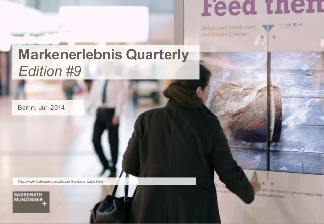 SM+ Markenerlebnis Quarterly Edition #9