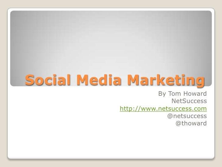 Social Media Marketing Introduction for DFW Business Marketing Association