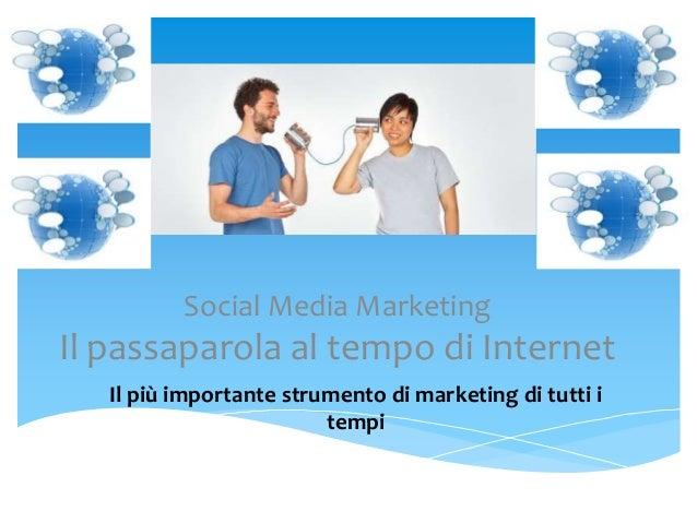 Social Media Marketing e Turismo 2.0