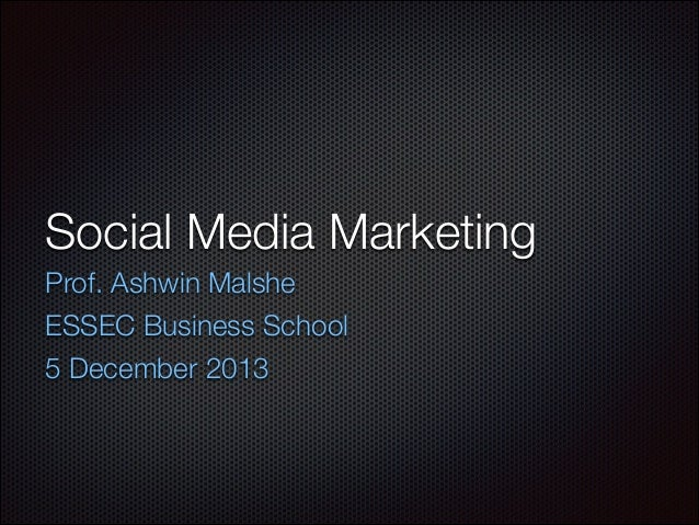 Social Media Master Class - Introduction