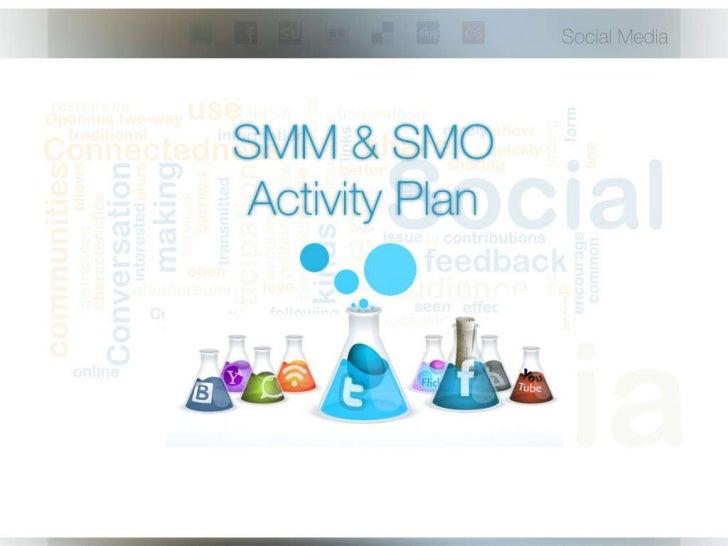 Smm & smo activity plan 2011