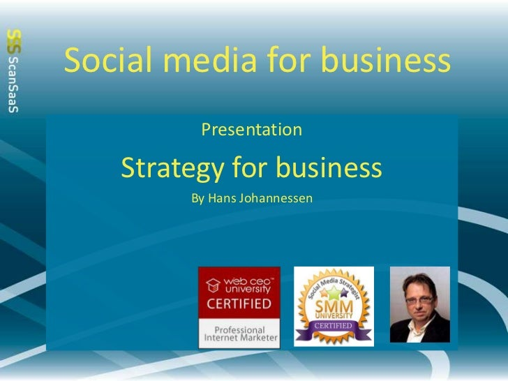ScanSaaS Social Media Strategy for business