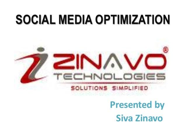 Zinavo Technologies - Social Media Optimization
