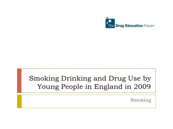 Smoking Drinking and Drug Use by Young People in England in 2009<br />Smoking<br />