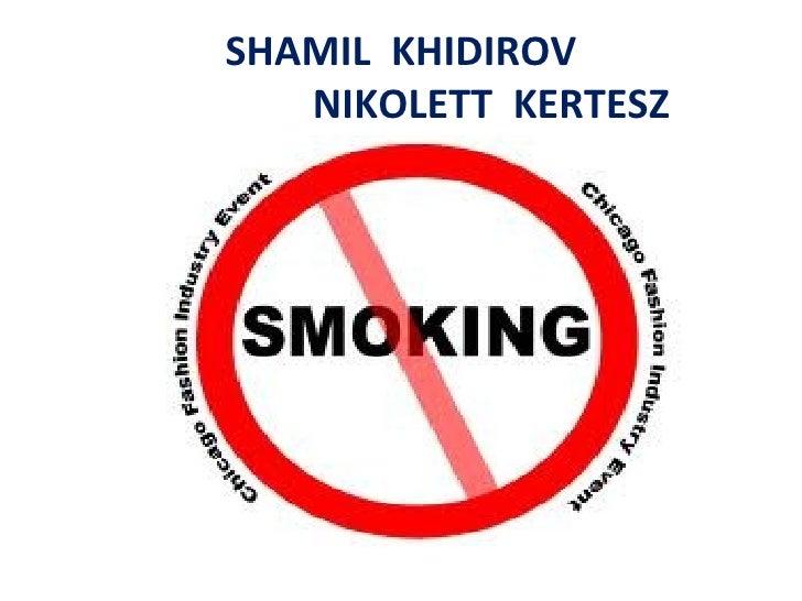 SHAMIL  KHIDIROV   NIKOLETT  K E RTESZ