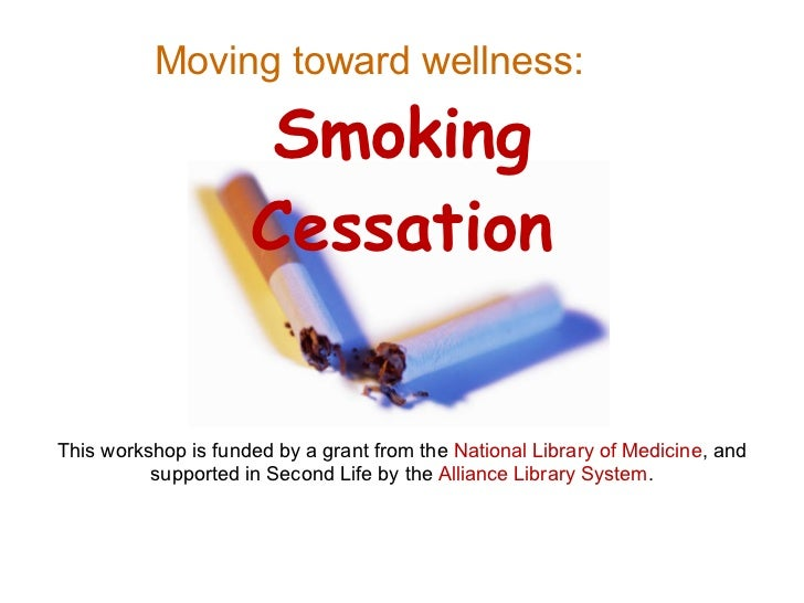 This workshop is funded by a grant from the  National Library of Medicine , and supported in Second Life by the  Alliance ...