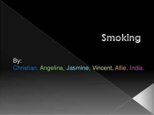 IB Exhibition Topic: Smoking- Rm 14