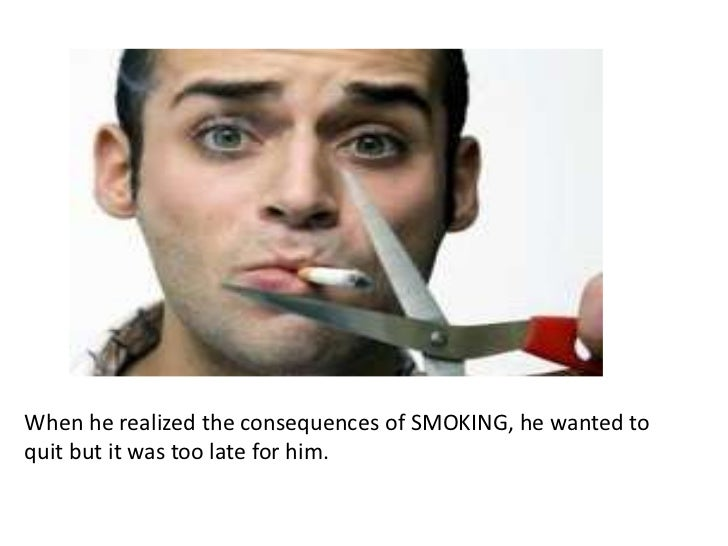 smoking is bad for our health