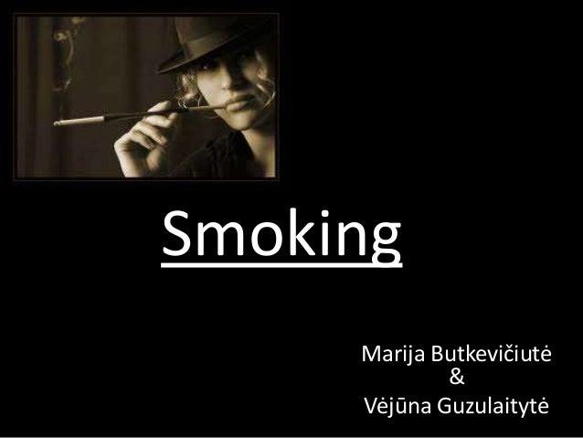 Smoking Marija Butkevičiutė & Vėjūna Guzulaitytė