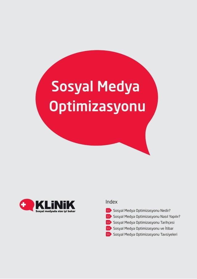 Sosyal medya optimizasyonu