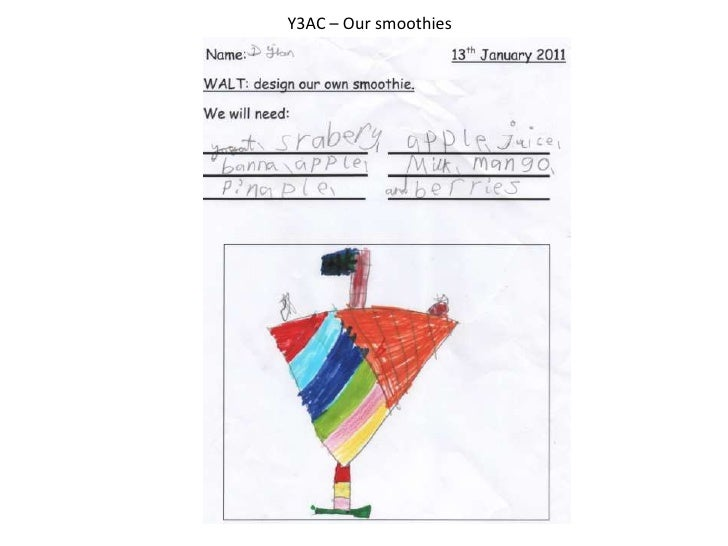 Y3AC – Our smoothies<br />