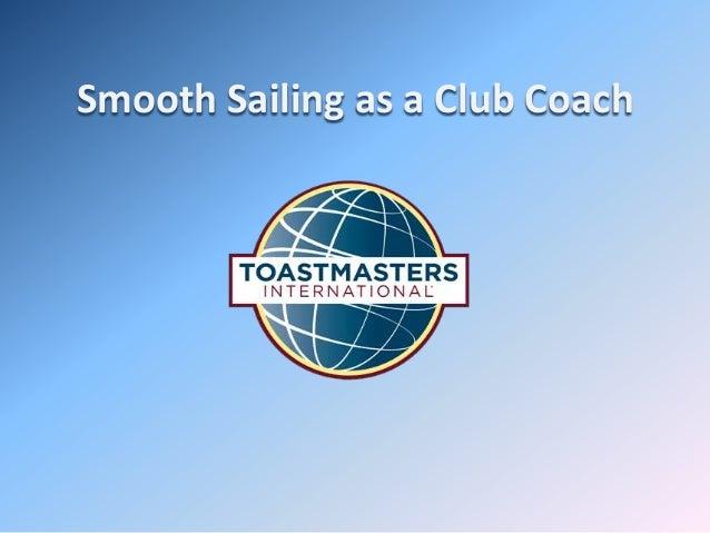 Smooth Sailing as a Club Coach