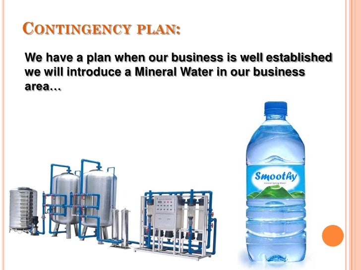 mineral water business plan