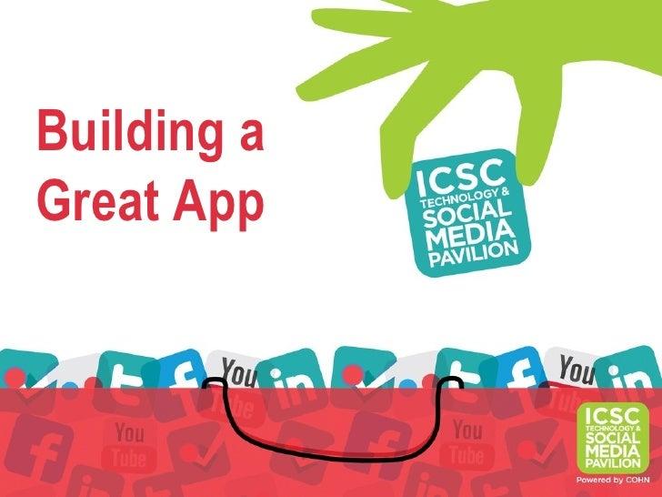 Building aGreat App