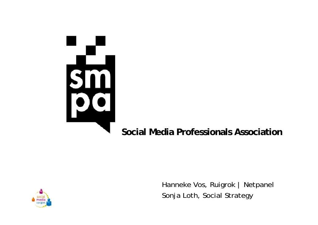 Smpa Presentatie Socialmedia Ruigrok NetPanel online onderzoek marketeers marketing