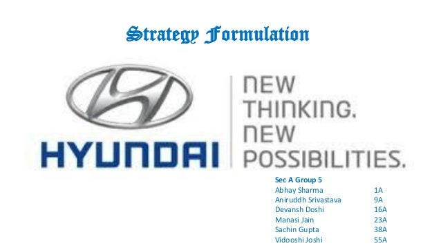 hyundai group case study Through 2017, hyundai motor has been communicating its future mobility positioning through a series of high-profile global brand marketing campaigns.